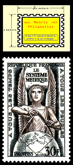 metric philatelist logo